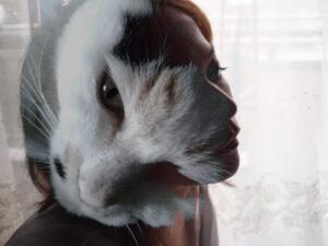 A macskás nő